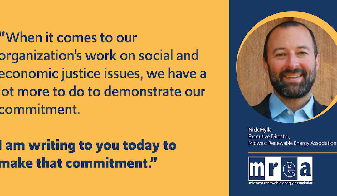 A Commitment from the MREA Executive Director
