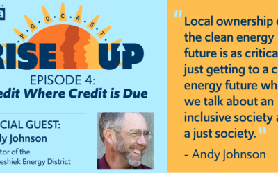 Credit Where Credit is Due – Featuring Winneshiek Energy District's Andy Johnson