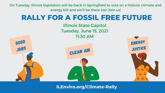 Illinois Rally for a Fossil Free Future